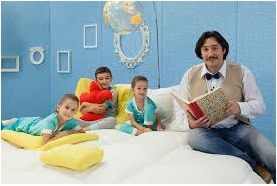 Společné čtení rodičů s dětmi ve školce